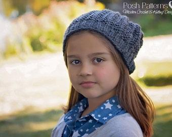 Knitting PATTERN - Easy Ribbed Knit Hat Pattern - Knitting Patterns for Men - Knit Hat Pattern - Baby, Toddler, Child, Adult Sizes - PDF 309