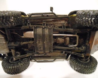 Classicwrecks, Scale Model, Rusted, Jeep Car,Yellow