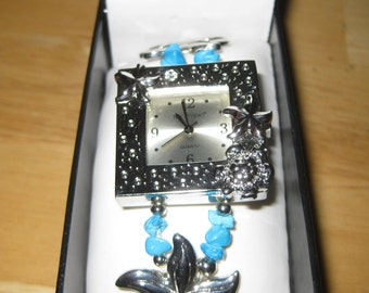 Womens Bay Studio Watch / Quartz / Adjustable Band ON SALE