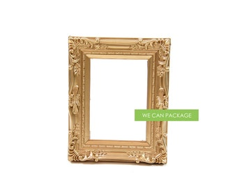 "GOLD Wedding Frame Vintage Antique 5"" x 7"""