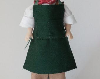 Dollshouse Miniature RONAN - OOAK Handcrafted 1/12 scale Male Doll