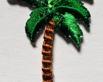 palm tree IRON ON PATCH