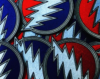 """Dead & Co Embroidered Patch 4"""" x 4"""""""