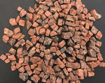 Tumbled Red Granite Nuggets