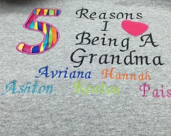 Grandma crew neck sweatshirt  small-large