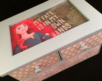 Merida Upcycled Jewelry Box