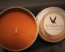 Spiced Pumpkin 4 oz. Tin Candles