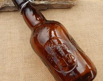 Grolsch Amber Beer Bottle