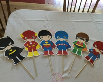 Superhero Boys Centerpiece