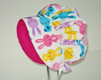 Baby Bonnet - Baby Sun Hat - Baby Gift - Summer Bonnet - Baby Sun Bonnet - Baby Hat - Girls Sun Hat - Girls Bonnet - Made To Order