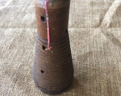 Vintage Wood Spool or Repurposed Candle Holder use code Save50 to get 50% off now to Feb 28