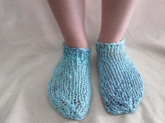 Knitting Patterns Footie Socks : Easy Ankle Socks Knitting Pattern, Footie Socks Pattern ...