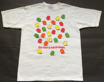 Vintage Lifesaver Holes Candy Shirt