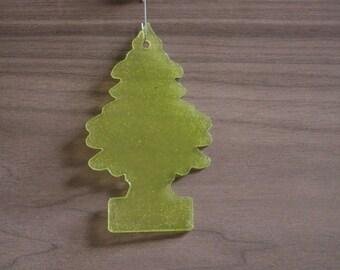 Tree Freshener Tree Ornament, Lime Green
