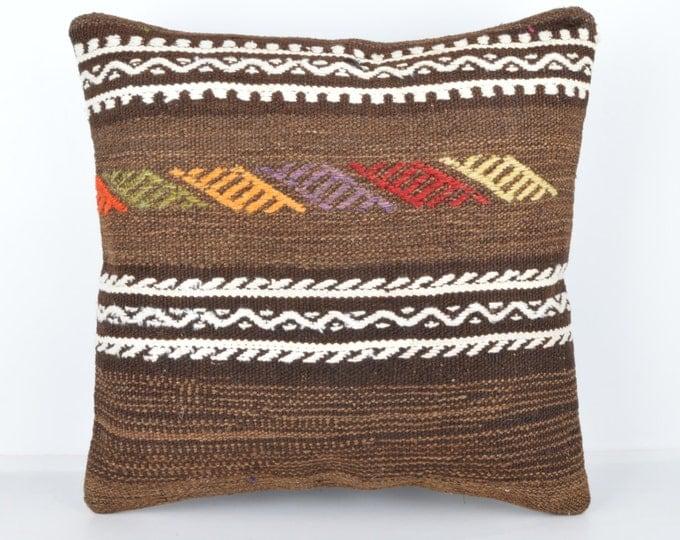 Wool Pillow, Kilim Pillow, KP1001,  Decorative Pillows, Designer Pillows,  Bohemian Decor, Bohemian Pillow, Accent Pillows, Throw Pillows