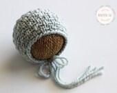 Knitting Pattern - Sawyer Bonnet - Newborn Photography Prop