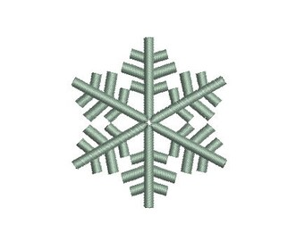 Embroidery design machine Snowflake Christmas instant download.