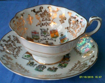 Vintage  Paragon Tea Cup and Saucer