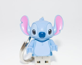 128GB Stitch USB Flash Drive with Key Chain