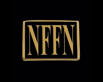 Solid Bronze NFFN 4 Letter Ring - Free Re-Size/Shipping