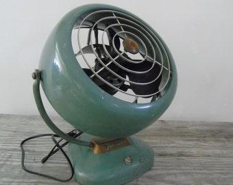 Machine Age Mid Century Deco VORNADO Fan Air Circulator  Model B24C1 Bakelite Blades  O.A. Sutton Corporation