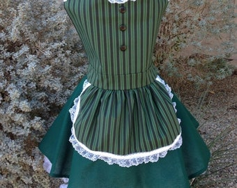 Haunted Mansion Maid costume apron dress