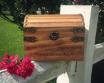memorial box for mom, mother, grandmother, aunt, sister, friend