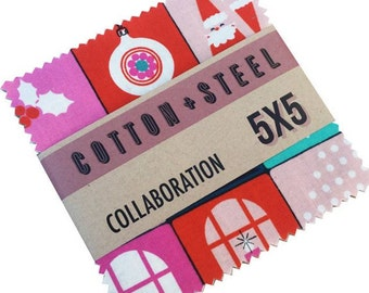 Cotton + Steel - Garland Charm Pack