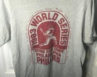 1983 philadelphia phillies tshirt
