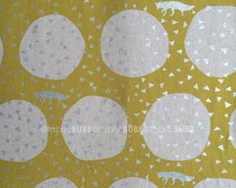 Den in Yellow by Echino by Kokka Fabrics, Etsuko Furuya