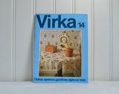 Swedish crochet booklet , vintage pattern book