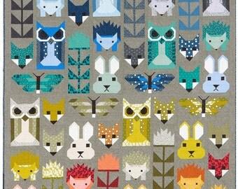 PRESALE - Elizabeth Hartman - Fancy Forest - Quilt Pattern (ElizabethHartman_FancyForest)