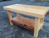 Douglas Fir Entryway Bench