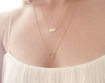 Leaf necklace gold , leaf necklace silver, gold leaf necklace,delicate gold necklace,simple gold necklace, silver leaf necklace