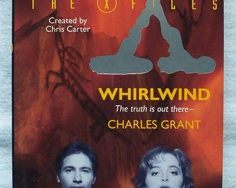 The X-Files Whirlwind by Charles Grant  2nd Edition Paperback Book