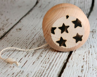 Wood Yo-yo, Star Design