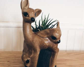 Deer Planter - Ceramic
