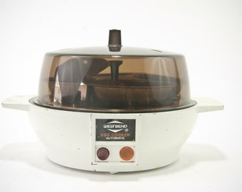 Vintage West Bend Egg Cooker, Electric Egg Cooker, Vintage Kitchen