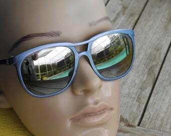 70's Vuarnet Vintage Sunglasses Px Pouilloux 084 Blue Designer Ski Shades