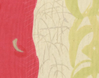 Nani Iro Japanese fabric in double gauze - Vitality - 1/2 YD