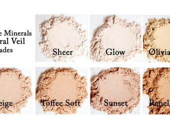 Beige Mineral Veil - Always Vegan and Cruelty-Free- 9g product in a 30g sifter jar