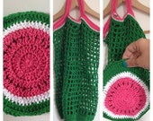 MELONBAG CROCHETPATTERN, Melon,Crochet Bag, Melon Bag, Crochet Pattern, Handmade, Tutorial, PDF- file, Instant Download, Crochet, Craft