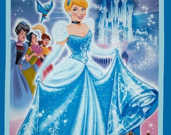 Cinderella Disney Princess Blanket