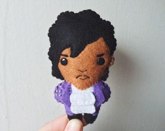 Felt Prince - Purple Rain - Pocket Plush toy