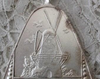 Vintage windmill pendant