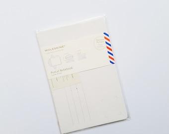 Moleskine Postal Notebook - White