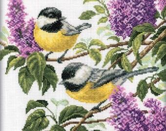 RTO cross stitch kits - flowers.