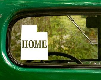 Utah Decal, Car Decal, State Sticker, Laptop Sticker, Utah Sticker, Bumper sticker, Vinyl Decal, Car Stickers