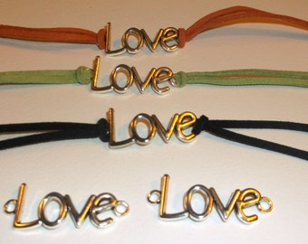Love suede bracelet, pick your color