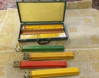 Antique  Bakelite Mahjongg set with Case.